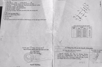 Chính chủ bán lô đất 80m2 mặt tiền Võ Văn Bích giá 1tỷ450, LH: 0908302855