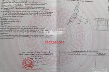Cần tiền bán gấp lô đất Thanh Niên, Phạm Văn Hai, Bình Chánh, sổ riêng 1tỷ9/nền, Hiếu: 0902680537