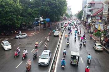 Bán tòa nhà văn phòng thương mại ngã tư Tây Sơn, Thái Thịnh 120m2 x 6T, MT 6m giá 34 tỷ