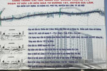 Bán 98 m2 đất mặt phố Ỷ Lan (179) - Đặng Xá - Gia Lâm - HN - giá cực shock