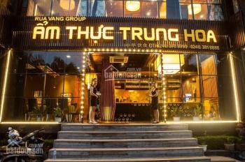 Siêu đẹp duy nhất! Cho thuê STM khu cao cấp GoldMark City - Hồ Tùng Mậu. Diện tích: 260m2
