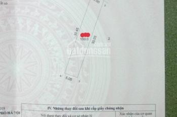 Một lô đất đáng để đầu tư: DT 150m2 cách khu CNC Hòa Lạc 500m, giá chỉ khoảng 1 tỷ. LH 0866990503