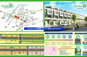 Công bố mở bán đất thổ cư KDC Tân Tạo Central Park TPHCM, sổ hồng riêng, LH: 0902306869