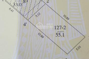 Bán nhà ngõ 622 Hà Huy Tập, Yên Viên, Gia Lâm, 55.01m2, MT 5m, sổ đỏ CC, LH 0911551516