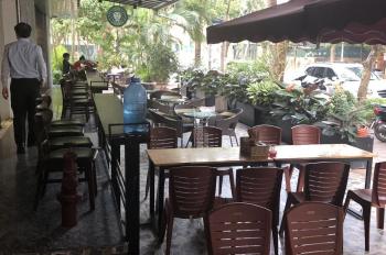Cho thuê mặt bằng KD nhà hàng, cafe, tầng 1 tòa nhà CC góc ngã 4 khu bán đảo Linh Đàm