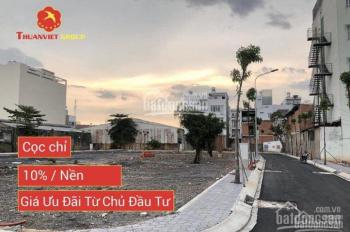 Bán đất sổ hồng riêng - hẻm 7m gần Luỹ Bán Bích, quận Tân Phú, giá 60m2.