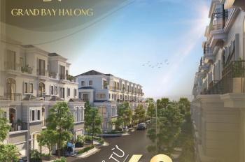 Quỹ căn độc quyền từ chủ đầu tư. Chỉ 8 tỷ shophouse trung tâm Bãi Cháy - Hạ Long