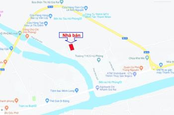Bán nhà 2 mặt tiền NB, nhà mới xây sổ đỏ, đường nhựa 4,5m, LH: 0853000577 Dương