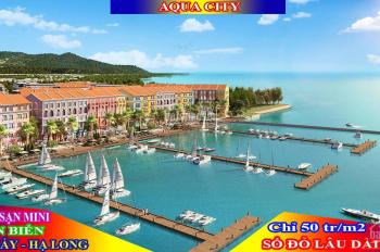 Căn góc cuối cùng dự án Aqua city Bãi Cháy Hạ Long. Liên hệ: 0968 936 122