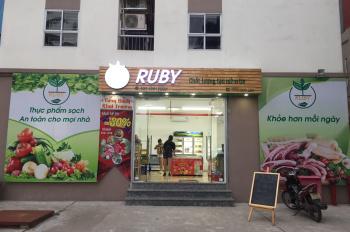 Cho thuê mặt bằng kinh doanh tại chung cư X203, 320 Lĩnh Nam, Hoàng Mai, Hà Nội