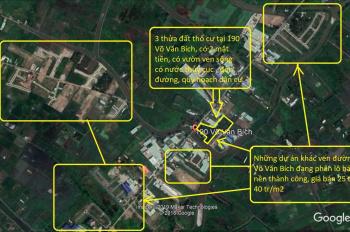 Bán đất chính chủ mặt tiền ngay trung tâm đường Võ Văn Bích, Bình Mỹ, Củ Chi, giá từ 5-11 triệu/m2