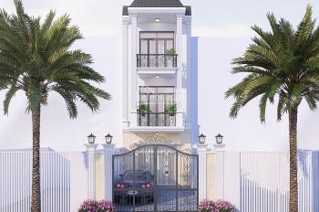 Bán nhà phố sân vườn khu biệt lập, an ninh Dĩ An, 1 trệt 2 lầu, sổ hồng riêng,lh: 0979.152.691