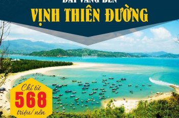 Cơ hội đầu tư đất nền biển Phú Yên giá cực sốc chỉ 568 triệu, chiết khấu Ngay 4%