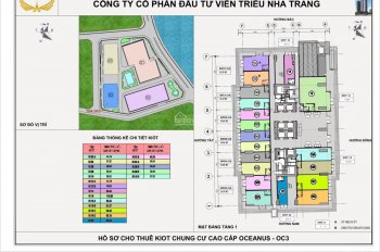 Cho thuê mặt bằng kinh doanh tại OC3 Mường Thanh Viễn Triều