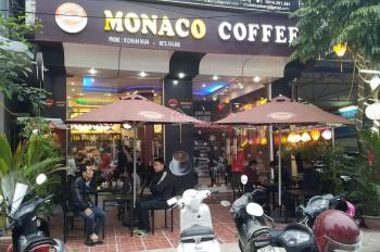 Cần sang nhượng quán cafe phố Nguyên Hồng, Mb lô góc siêu đẹp, 40m2x2t. Giá thuê 22tr/tháng