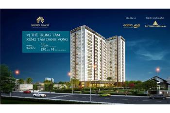 Chủ đầu tư bán căn hộ Saigon Asiana ngay đường 3 Tháng 2 giá chỉ 43 triệu/m2 (VAT). Diện tích 90m2