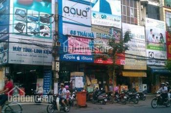 Cần bán nhà mặt phố Thái Hà, vỉa hè 5m, cho thuê kinh doanh 45tr/th, mặt tiền khủng, 13.9 tỷ