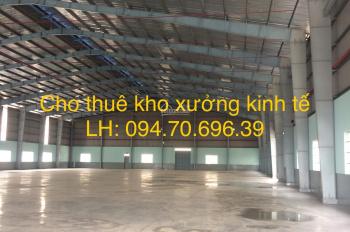 Cho thuê kho xưởng đường Võ Trần Chí giao Quốc Lộ 1A, Bình Tân - DT: 5500m, LH: 094.70.696.39