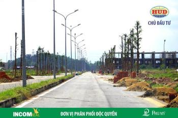 Đất nền mặt tiền đường 24m chỉ cần trả trước 599tr dự án KĐT Phú Mỹ TP Quảng Ngãi. LH: 0935 87 4444