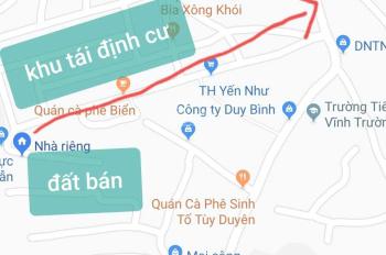 Bán đất hẻm gần khu tái định cư Vĩnh Trường, Nha Trang 64 m2