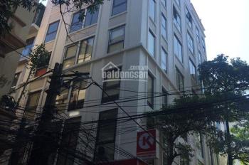 Bán tòa 7 tầng MP Nguyễn Văn Huyên, mặt tiền 9m, DT 110m, 44 tỷ, lô góc