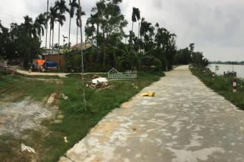 Cần bán đất 3 Mặt Tiền view Sông Thu Bồn tại Cẩm Nam giá 20 triệu/m2