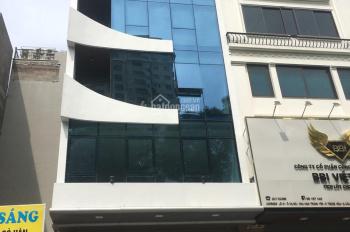 Cho thuê nhà mặt phố Trần Quý Kiên, Cầu Giấy. DT 55m2, 5 tầng, MT 5m, giá 30tr/th, LH 0961258683
