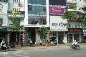 Cho thuê nhà mặt phố Nguyễn Phong Sắc_Trần thái Tông Cầu Giấy Hà Nội