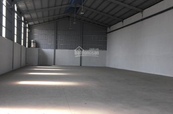 Cho thuê kho xưởng sản xuất nhỏ mặt tiền đường Nguyễn Thị Minh Khai, thị xã Dĩ An, Bình Dương