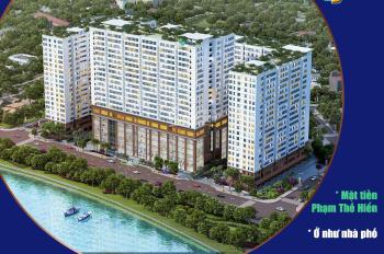 Green River - shophouse mặt tiền Phạm Thế Hiển P.6 Q.8, ở - kinh doanh như nhà phố. 0703 85 85 82
