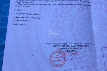 Cần tiền bán gấp lô đất Nam Long, xã Long Phước, TP. Bà Rịa - Vũng Tàu. Diện tích: 7 x 15m 70m2 TC