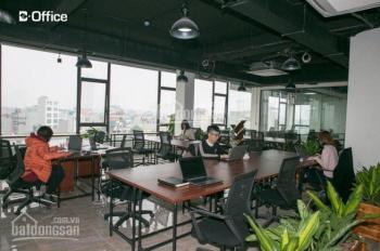 Chính chủ cho thuê gấp VP đường Xuân Thủy, 50m2 giá chỉ 8tr/th, full tiện nghi chỉ việc đến làm