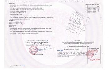 Cần tiền bán gấp lô đất khu dân cư Phạm Văn Hai, bình chánh, 1,8 tỷ/nền sổ riêng, Hiêu: 0902680537