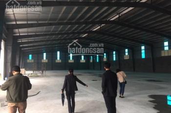 Cho thuê kho xưởng DT 1000m2, 1800m2 Biên Giang Hà Đông Hà Nội. LH 0979 929 686