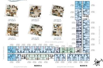Bán căn hộ Sài Gòn Gateway 55m2 thiết kế 2 phòng ngủ, 2WC, Nhà mới đẹp, gọi đến 0913158093