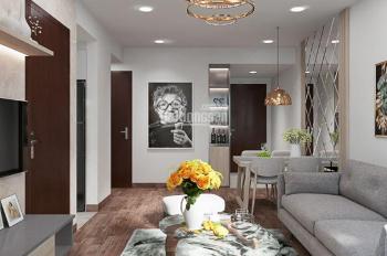 Chung cư chính chủ cho thuê 62m2, 2PN, 1 bếp, 1 khách, 2 lô gia đủ đồ