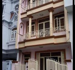 Cho thuê tòa nhà văn phòng Q. Phú Nhuận 7x20m, hầm, trệt, 6 lầu. Giá: 100 triệu/tháng