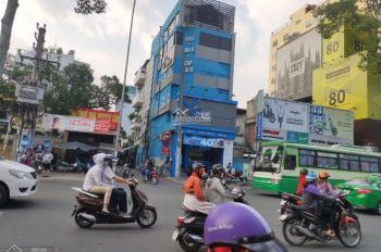 Cho thuê nhà góc 2 mặt tiền Nguyễn Thị Minh Khai và hẻm xe hơi 6x15m, 1 hầm, 5 tầng, thang bộ cuối