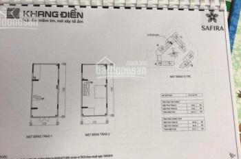Shophouse dự án Safira Khang Điền, 127m2, giá 7,6 tỷ
