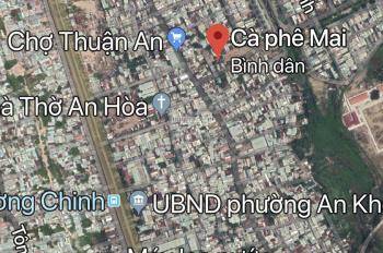 Đất kiệt Ô tô, đường mới gần chợ Thuận An, An Khê, Đà Nẵng.