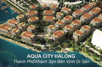 AQUA CITY HẠ LONG - CÓ 08 CĂN HƯỚNG MẶT BIỂN NGOẠI GIAO ĐƯỢC. HOTLINE 0968 936 122