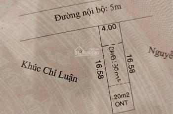 Bán đất Lái Thiêu, Thuận An, diện tích 68m2, giá: 1 tỷ 860 triệu