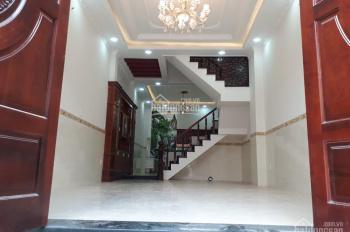 Bán nhà sổ hồng 1 sẹc đường Số 6, Bình Hưng Hòa B, sổ hồng 2019, DT 4,3x17m, nhà 3 lầu