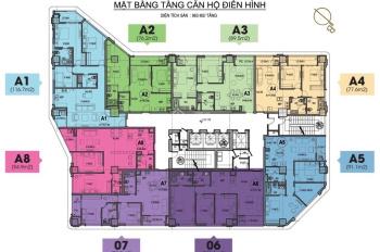 Căn hộ 3 phòng ngủ A1 VIP 116.7m2 tại HDI Tower, giá 9.9 tỷ, full đồ ngoại nhập, tặng 100tr