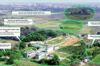 Bán biệt thự Green Oasis Lương Sơn, Hoà Bình giá 1,5 tỷ đang cho thuê 150tr/năm 0986853461