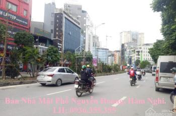 Bán nhà mặt phố Nguyễn Hoàng, Nam Từ Liêm, 80m2, mặt tiền 6,5m, giá rẻ