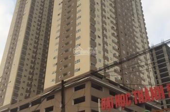 Cho thuê tầng 1, MBKD đế chung cư Bright AZ Thăng Long - Lai Xá Hoài Đức. 300m2, MT 20m, 100tr/th
