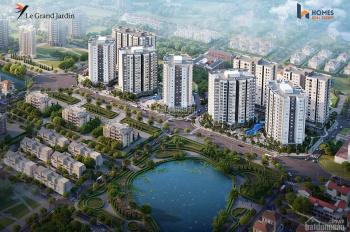 Chung cư Long Biên-HN- Dự án Le grand jardin với nhiều tiện ích