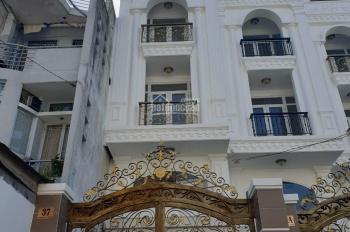 Bán nhà mới đẹp ngay mặt tiền Nguyễn Trung Trực, P5, Bình Thạnh trục đường nối liền Hoàng Hoa Thám