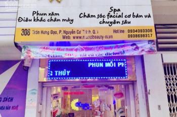 Cần sang nhượng spa chăm sóc da mặt tại 308 Trần Hưng Đạo, Quận 1
